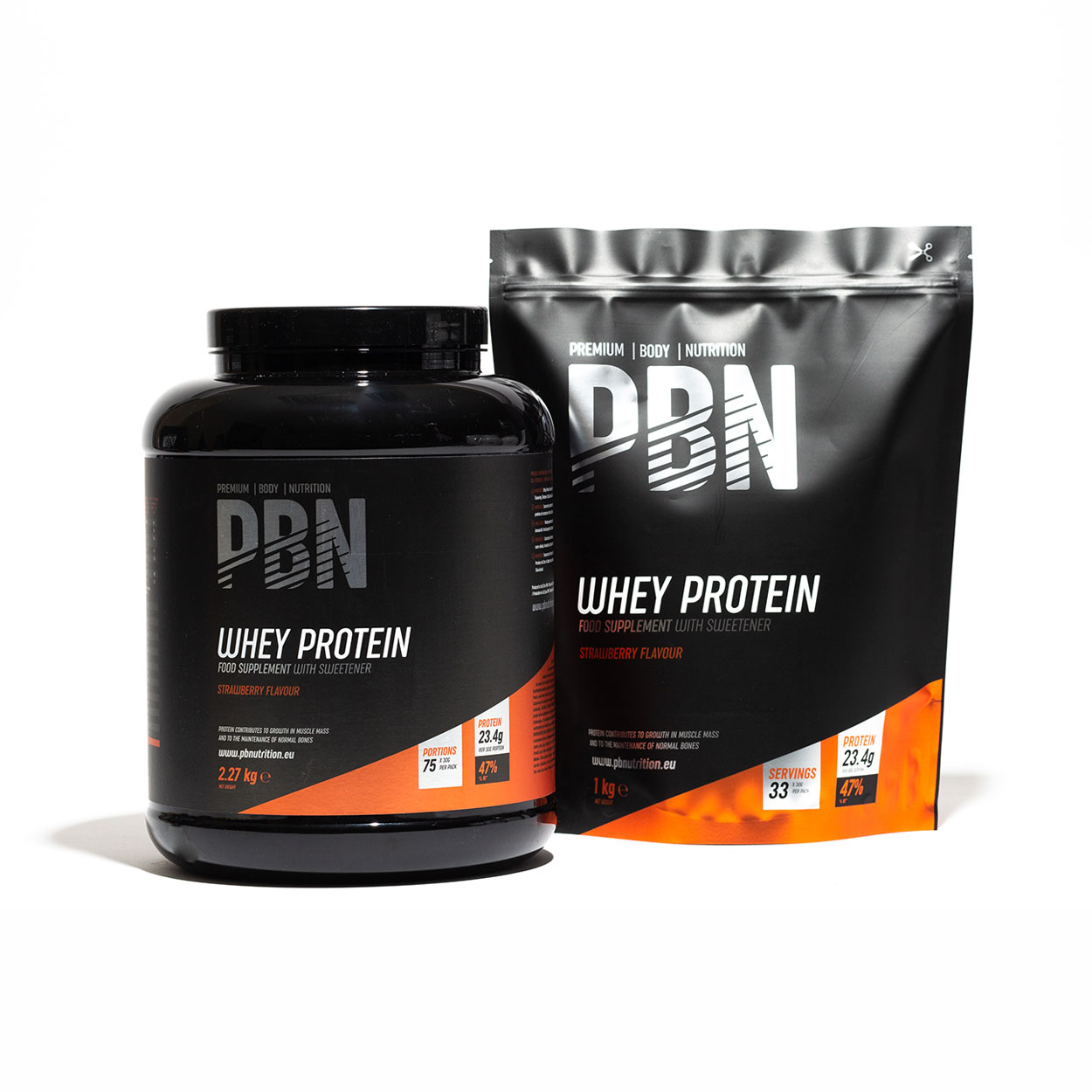 PBN Group Whey Protein Strawberry